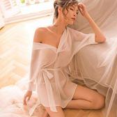 情趣睡衣 性感睡衣女透明白襯衫情趣內衣激情套裝小胸開檔挑逗透視裝 【新品】