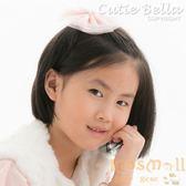 Cutie Bella星星雪紡大蝴蝶結全包布手工髮夾-Lace Star Bow-Peach
