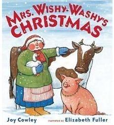 【麥克書店】MRS. WISHY-WASHY'S CHRISTMAS /平裝繪本 ※ 聖誕節經典款 ※