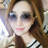 墨鏡女潮眼鏡優雅司機個性太陽鏡女士圓臉日韓 優樂居生活館