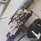 夏季空調房披肩圍巾兩用女加厚秋冬季百搭辦公室保暖超大斗篷披風 東京衣秀