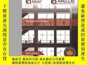 二手書博民逛書店Management罕見Of Value-價值管理Y436638 The Stationery Of... T