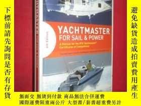 二手書博民逛書店Yachtmaster罕見for Sail and Power: