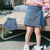 女童牛仔短褲夏季韓版寶寶時尚牛仔褲裙外穿【奇趣小屋】