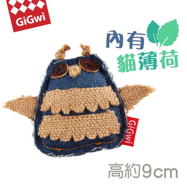 【毛麻吉寵物舖】GiGwi就是愛貓草-牛仔貓頭鷹