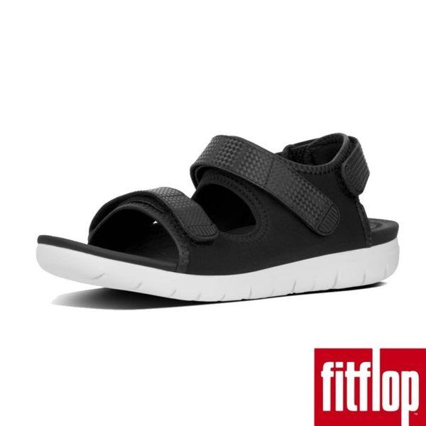 【FitFlop】NEOFLEX BACK-STRAP SANDALS(黑色)