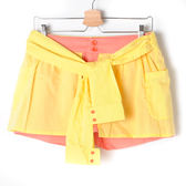 【Dailo】繽紛假兩件短褲-粉 10601