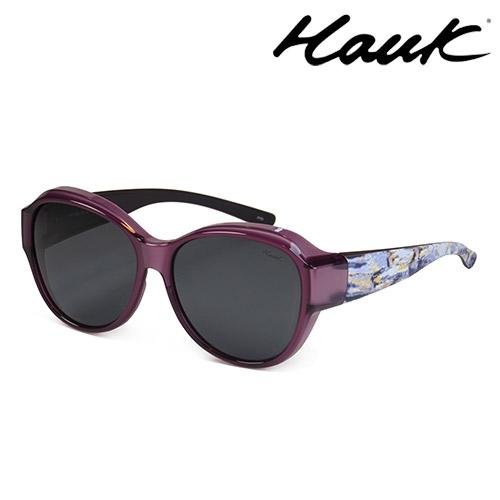 HAWK 新型薄框偏光太陽眼鏡套鏡(2用)HK1029-97