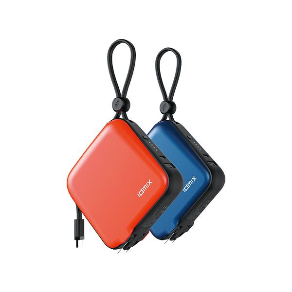 IDMIX MR CHARGER 10000 (CH05) 旅充行動電源 Type-C版本 可加購多國轉接頭【WitsPer智選家】