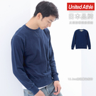 日本品牌 United Athle 3906 獨家研發藍染圓領長袖T恤 12.2 oz【UA3906】