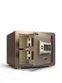保險櫃險箱家用小型全鋼指紋密碼辦公保險櫃防盜床頭迷你保管箱新款 LX春季特賣
