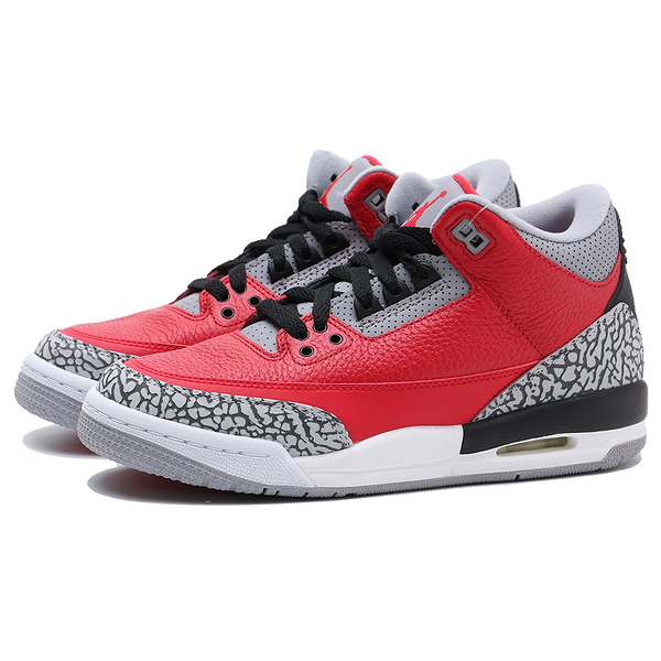 NIKE AIR JORDAN 3 RETRO SE UNITE FIRE RED GS 喬丹 三代 紅水泥 老屁股 籃球鞋 女 (布魯克林) CQ0488-600