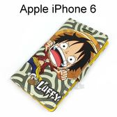 海賊王側翻支架皮套 [R02] iPhone 6 / 6S (4.7吋) 航海王 魯夫【台灣正版授權】