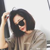 太陽鏡女新款潮款眼鏡偏光墨鏡女韓版個性復古原宿風