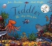 【麥克書店】TIDDLER: THE STORY-TELLING FISH /英文繪本+CD