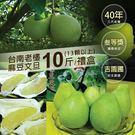 (預購8/26-9/5出貨)【屏聚美食】頂級40年老欉台南麻豆文旦10斤(8-12顆/箱)