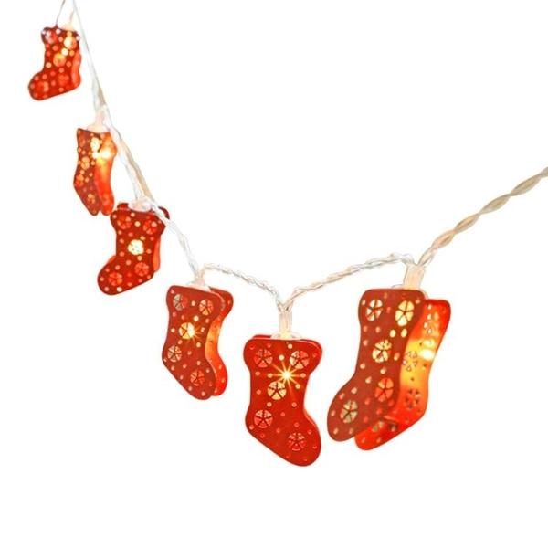 圣誕襪裝飾燈彩燈閃燈串燈裝飾