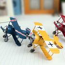 【BlueCat】復古斑駁風金屬鐵皮飛機...