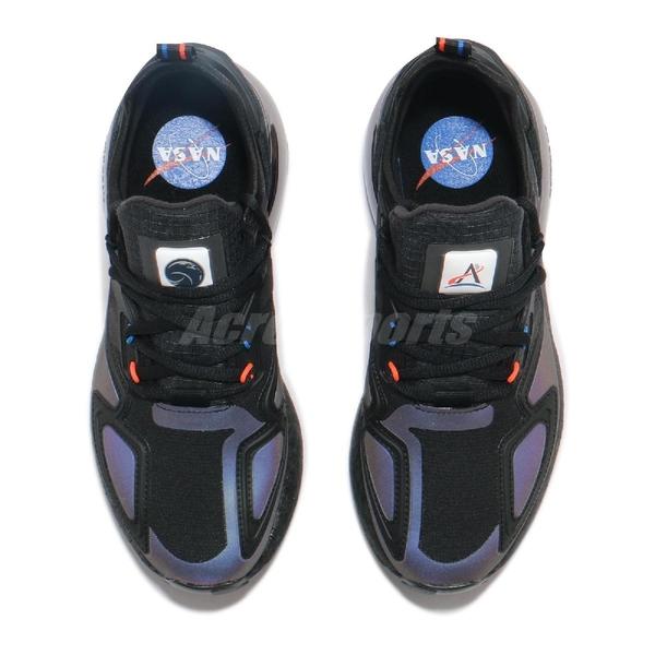 adidas 休閒鞋 ZX 2K Boost 黑 銀 男鞋 銀河 反光 金屬 運動鞋 【ACS】 H03247