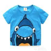 寶寶短袖T恤 夏裝新款韓版童裝男童女童兒童圓領上衣jh-0037 沸點奇跡