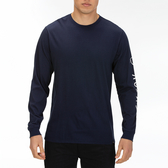 Hurley  M PRM SURF AND ENJOY LS WHITE  長袖T恤-Premium-(男)