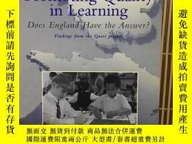 二手書博民逛書店promoting罕見quality in learning (