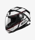 【OUTLET出清商品】SOL SF-5 阿爾法 黑/白 全罩安全帽