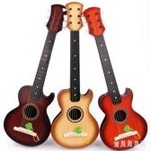 兒童吉他初學樂器 可彈奏仿真尤克里里音樂玩具 初學者烏克麗麗 CJ4955『寶貝兒童裝』