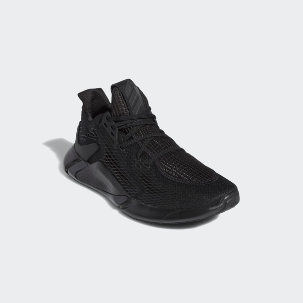 Adidas Edge XT男款黑色輕量透氣跑鞋-NO.EG9704