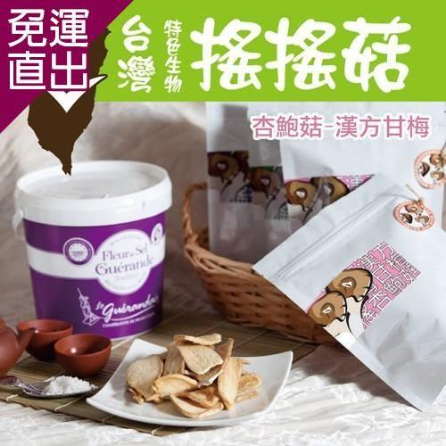 搖搖菇 海苔香菇酥+甘梅杏鮑菇酥(各一包,共兩包)【免運直出】