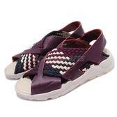 【五折特賣】Nike 涼鞋 Wmns Air Huarache Ultra 紫 米白 武士鞋 時尚涼鞋 涼拖鞋 女鞋【PUMP306】 885118-604