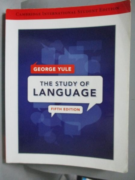 【書寶二手書T9/大學文學_XEY】The Study of Language International Studen