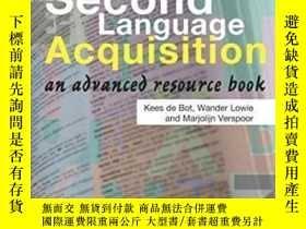 二手書博民逛書店Second罕見Language AcquisitionY256260 Kees De Bot Printed