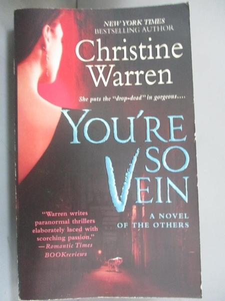 【書寶二手書T7/原文小說_BLS】You're So Vein_Warren, Christine
