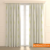 森之谷雙層遮光紗簾 寬290x高210cm