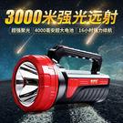 康銘大手電筒強光可充電式超氙氣燈LED強...