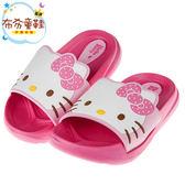 《布布童鞋》HelloKitty凱蒂貓滿版桃色兒童超輕量拖鞋(15~21公分) [ C7S979H ]
