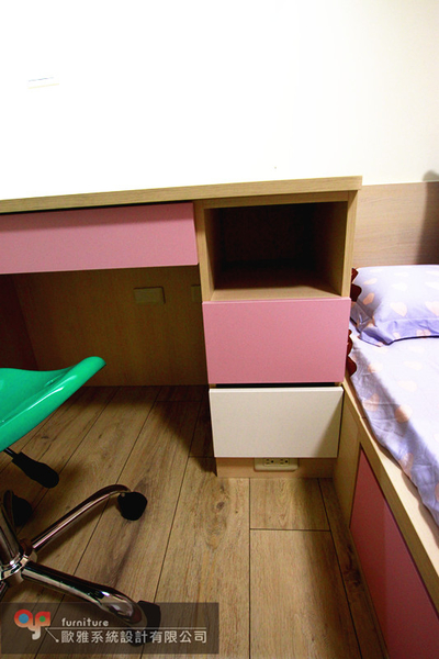 【歐雅 系統家具 】吊櫃結合床頭矮櫃