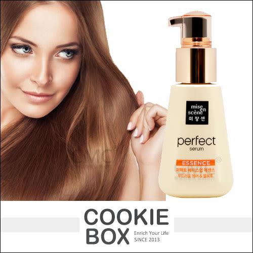 韓國 Mise en scene 完美基底 髮根 營養 護髮油 (金色) 100ml 免沖洗 護髮 保養 *餅乾盒子*