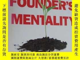 二手書博民逛書店The罕見Founder s Mentality: How to Overcome the Predictable