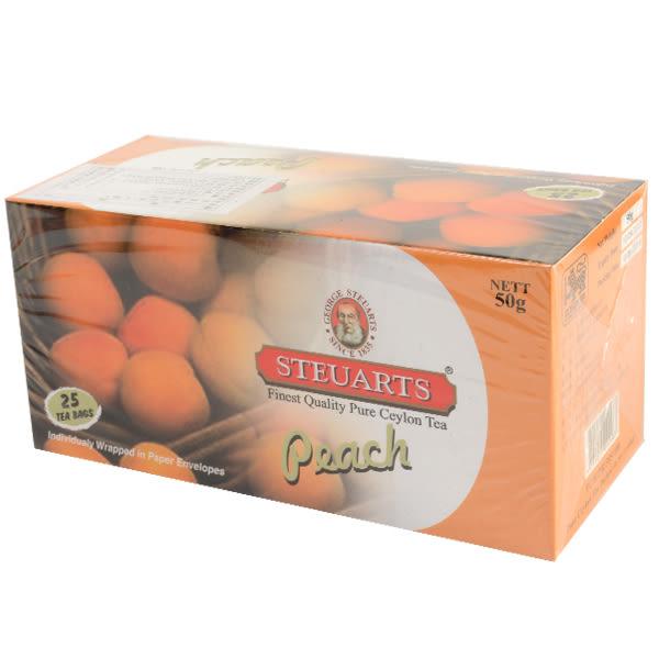 斯里蘭卡【STEUARTS】史都華水蜜桃紅茶 2g*25入(賞味期限:2020.09.10)