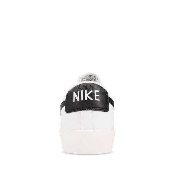 Nike 休閒鞋 Blazer Low Leather 白 黑 男鞋 女鞋 皮革鞋面 運動鞋 【ACS】 CI6377-101