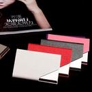 名片夾大容量女士精致商務隨身高檔名片盒男士pu皮不銹鋼收納 【快速出貨】