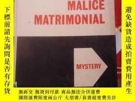 二手書博民逛書店JOAN罕見FLEMING MALICE MATRIMONIAL