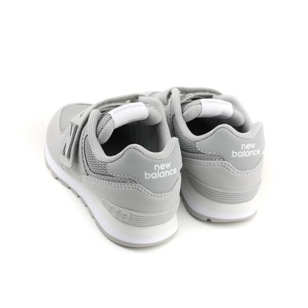 New Balance 574系列 運動鞋 跑鞋 魔鬼氈 灰色 中童 童鞋 YV574TC-W no459