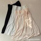 内搭衬裙 桑蠶絲襯裙 睡裙 女士打底裙 彈力針織真絲半身裙 蕾絲花邊薄短裙 瑪麗蘇