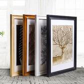 歐式實木相框掛牆16寸14 18 20 24 36 32寸4K開8kA3海報畫框a4-Ifashion