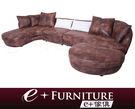 『 e+傢俱 』BS118 蓋伊 Guy 現代時尚 品味時尚風格 L型沙發組 | 布沙發 可訂製