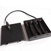【DY309】3號電池座 電池盒3號4槽含蓋帶開關 電池座 4節串聯6V塑料電池盒 EZGO商城