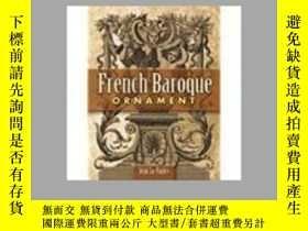 二手書博民逛書店French罕見Baroque Ornament 法國巴洛克裝飾